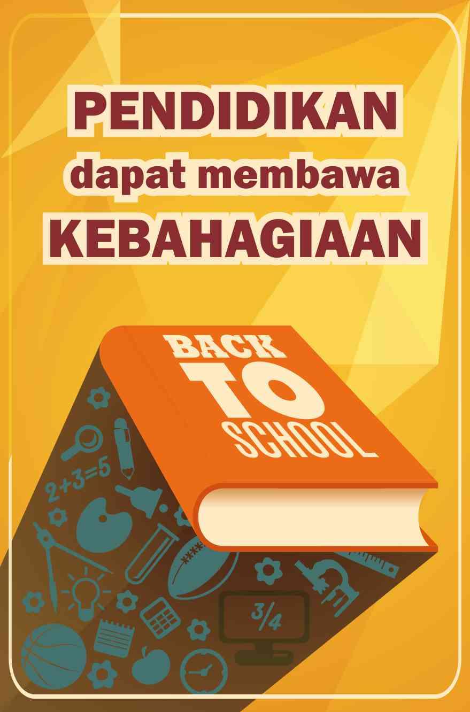 Poster tentang Pendidikan