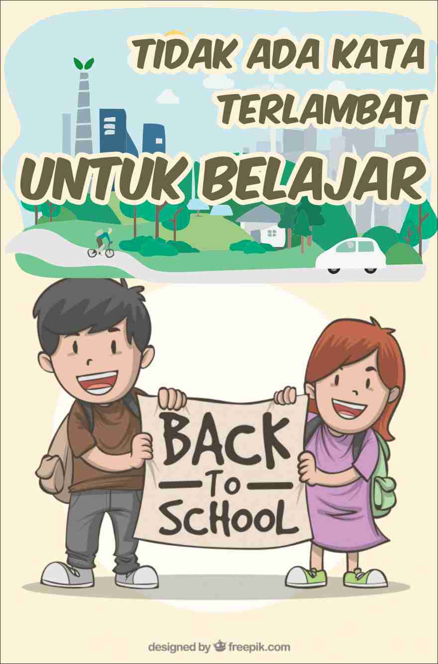 Sketsa Poster Pendidikan