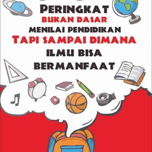 Poster Pendidikan Sekolah
