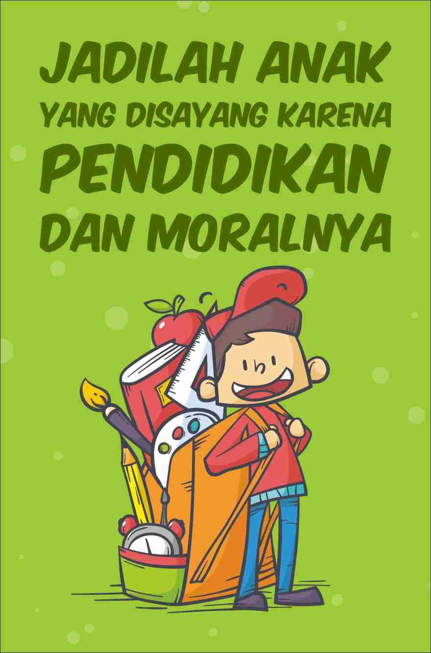 Poster tentang Pendidikan Karakter