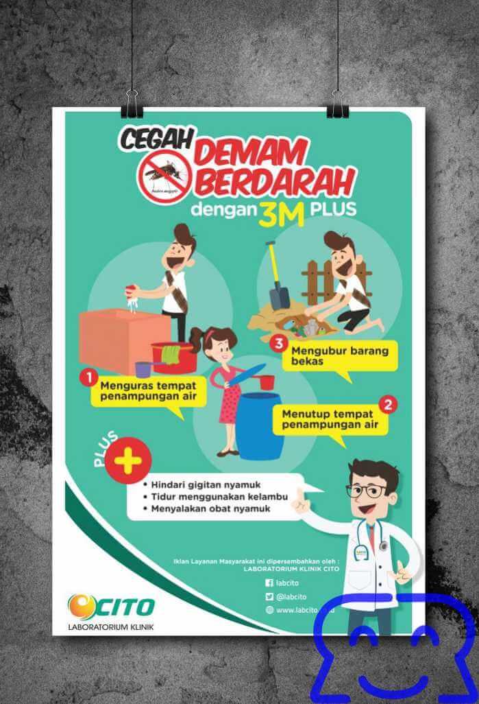 Poster Pencegahan DBD