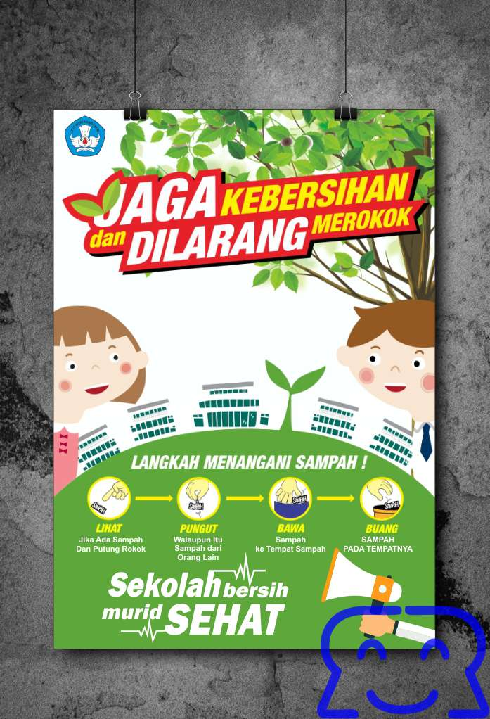 Poster Menjaga Kebersihan Lingkungan
