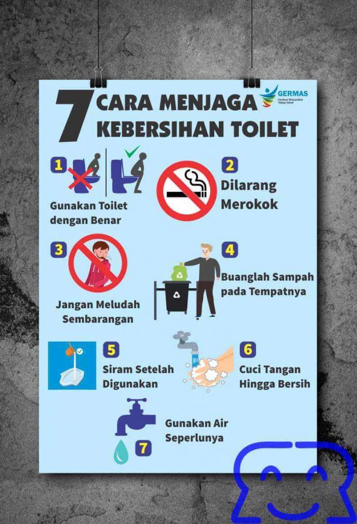Poster Jaga Kebersihan Toilet